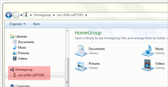 View-shared-HomeGroup-files-and-folders-in-Windows