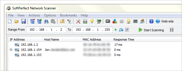 Scan-a-network-for-devices-using-SoftPerfect-Network-Scanner