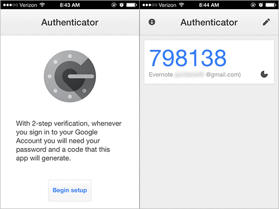 Get-the-Google-Authenticator-code-for-Evernote-on-iOS