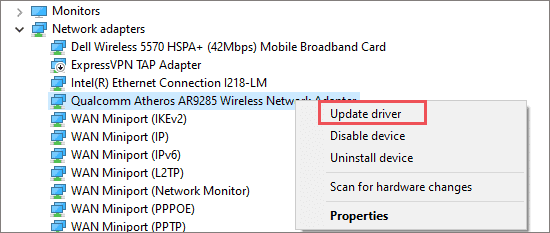 Update Network drivers