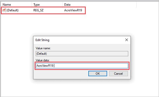 Value Data in the Registry