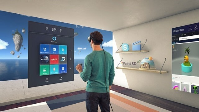Windows 10 Creators Update mixed reality