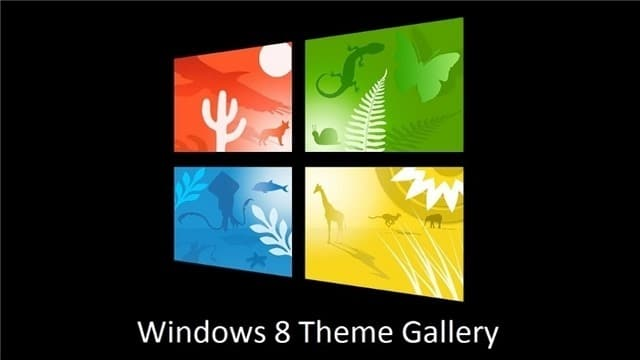 Windows 8 Theme Gallery