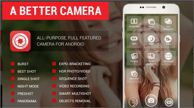 a better camera best android camera app
