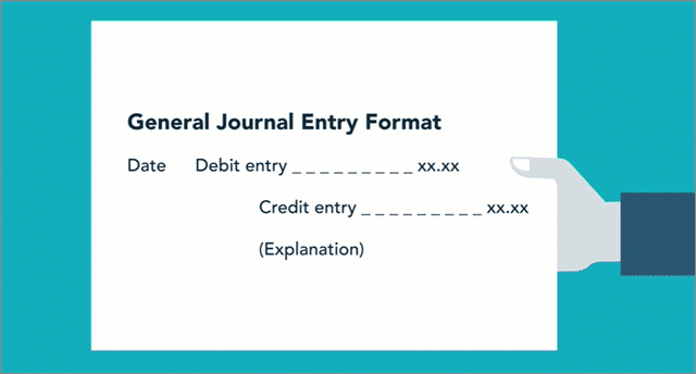 accounting foundations journal entry