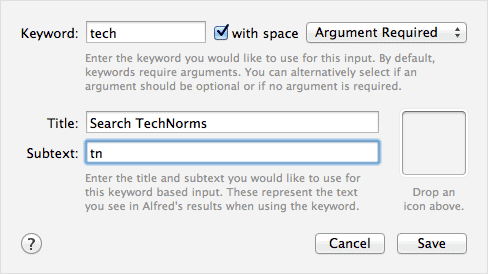 add-keyword-to-launch-search-in-Alfred