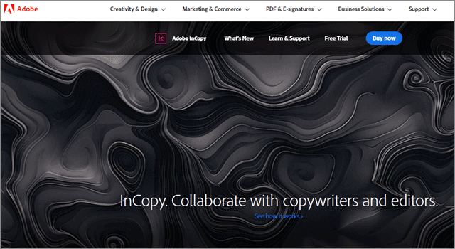 incopy for copy writers and editors
