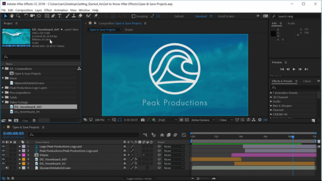 adobe products Adobe After effects 1