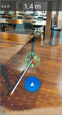 air measure augmented reality android