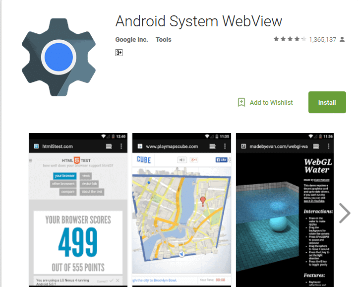 Android System WebView: What is it and Why its Present on