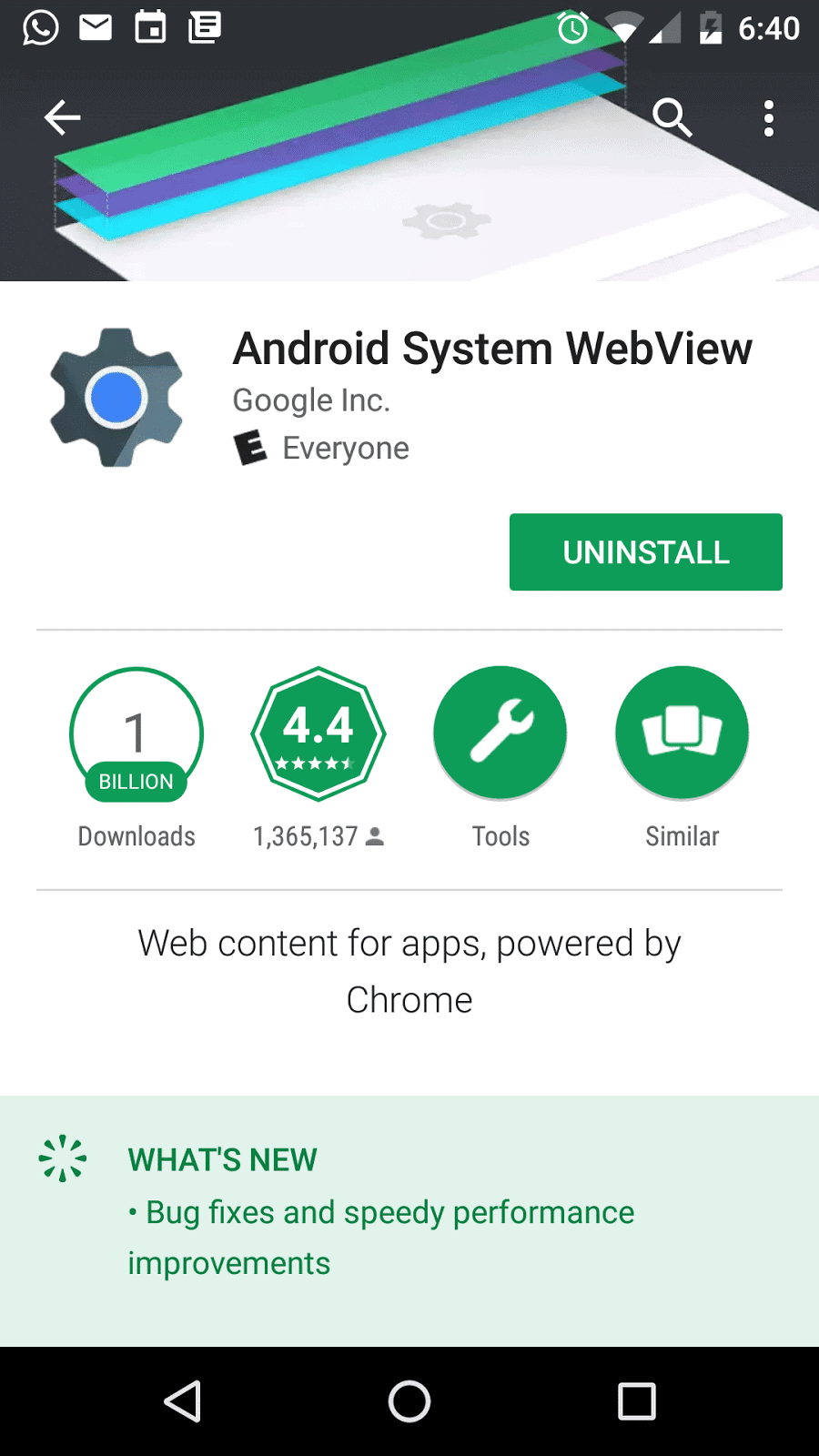 Android System WebView: What is it and Why its Present on Your Device?