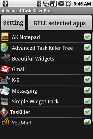 advanced task killer free for iphone