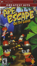 ape escape on the loose best psp action games 1