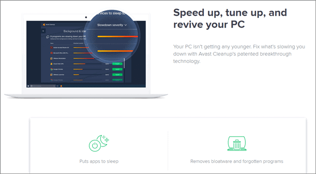 avast cleanup best ccleaner alternative