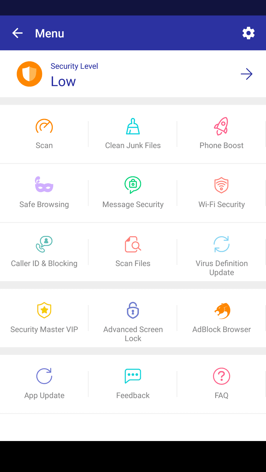 best android antivirus security master2