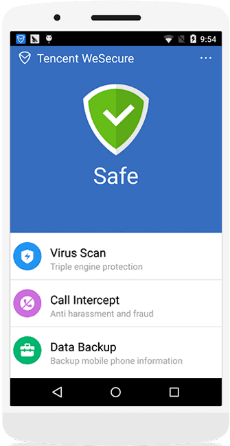 best android antivirus tencent1