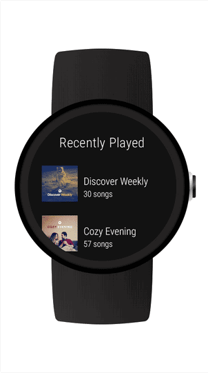 best androidwear apps spotify