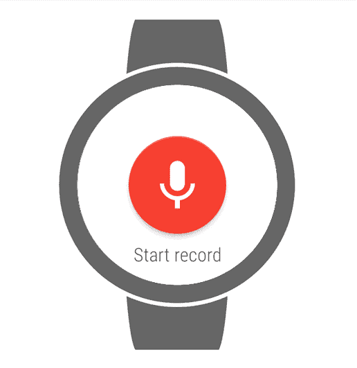best androidwear apps wear audio recorder
