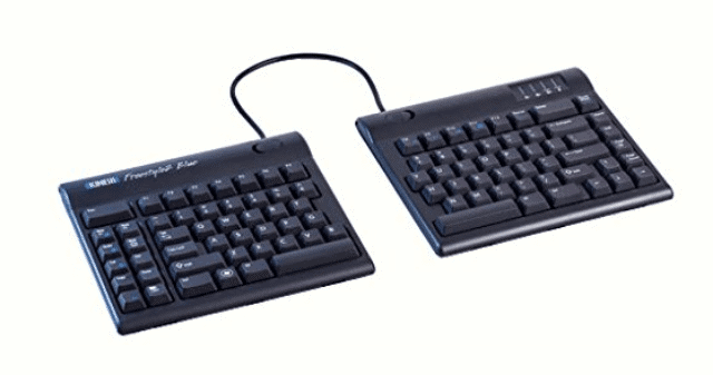 kinesis freestlye2 blue best wireless keyboard