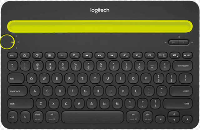 best wireless keyboard logitech k480