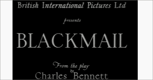 blackmail free movies on youtube