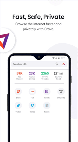 brave best private browser android