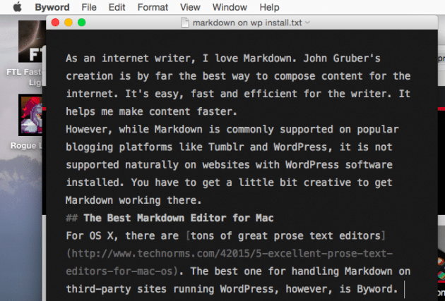 byword-beautiful-markdown-editor