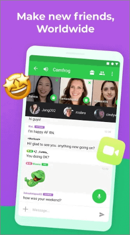 camfrog best video calling apps for android
