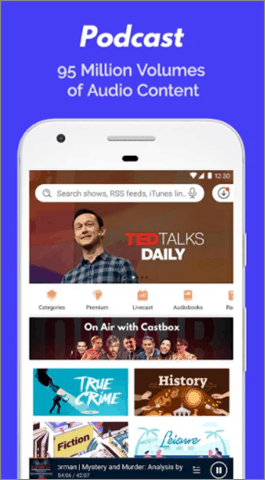 castbox best android podcast app