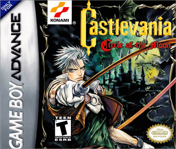 castlevania best gba games