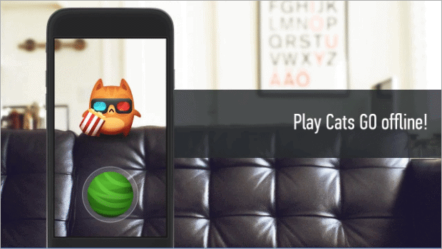 cats go offline android games