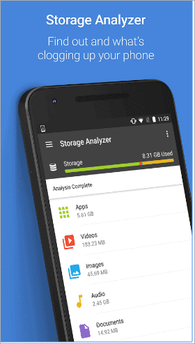 ccleaner for how to clear internal storage on android