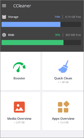 ccleaner best android cleaner app
