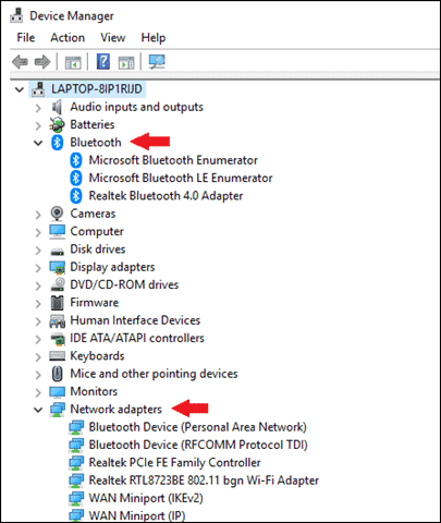 check if your pc supports bluetooth turn on bluetooth