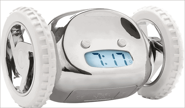 clocky-alarm-clock-on-wheels-best-tech-gifts-for-kids