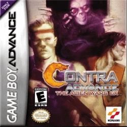 contra advance best gba games 1