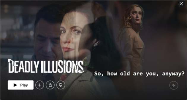 deadly illusions best thrillers on Netflix