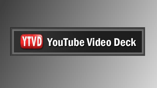 Youtube-Video-Deck