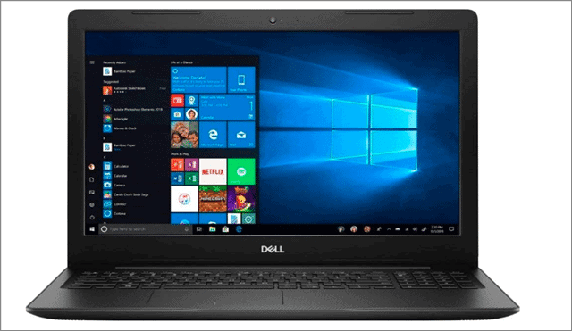 dell inspiron 15 best budget laptop for video editing
