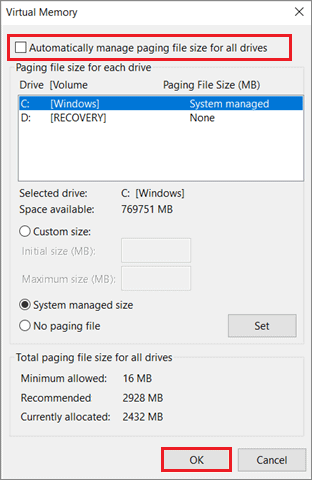 Check the box To Fix Can't Create A New Folder In Windows 10