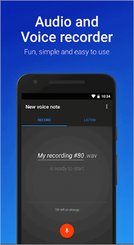 digipom best voice recorder app for android