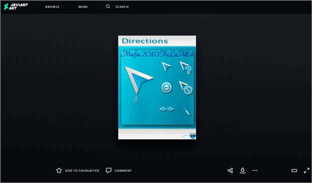 direction mouse pointer