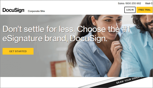 docusign sign documents online
