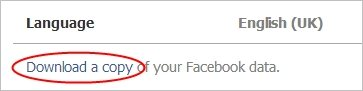 Viewing-Facebook-Archive-Download-Button