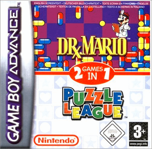 dr mario and puzzle league games