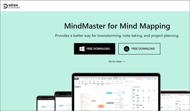 edraw mind mapping software