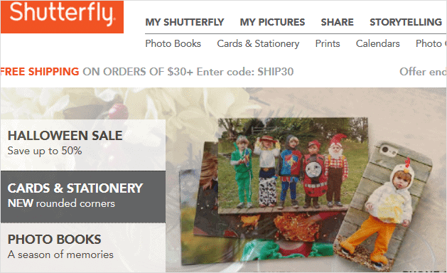 landing-page-for-shutterfly
