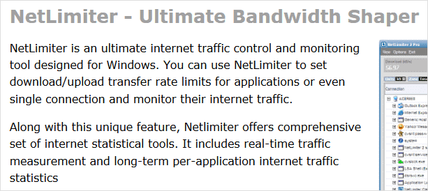 Limit How Much Bandwidth Firefox, Chrome or Any Other