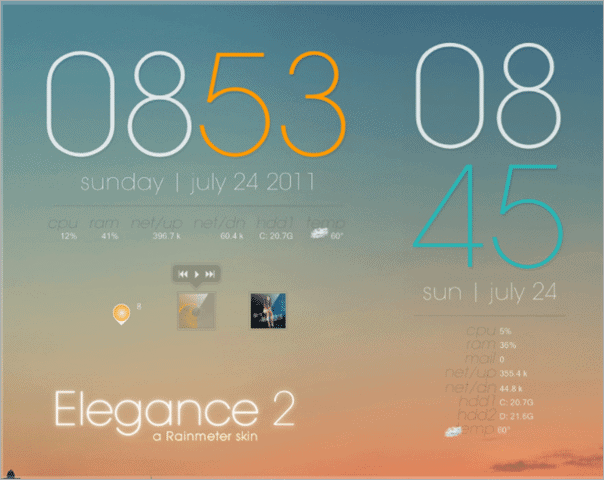 40 Best Rainmeter Skins To Brighten Up Your Windows Desktop