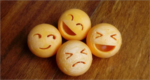 emoticon ball cool things to 3D print